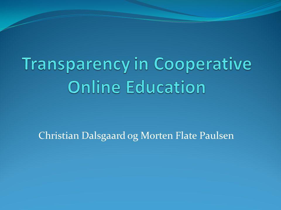 Virkemidler for å styrke tilhørighet i virtuelle læringsfellesskap Studentkataloger Elevprofiler (hva deles med hvem) Læringspartnere Kooperative oppdrag/oppgaver Kooperativ vurdering Kooperativ separasjon