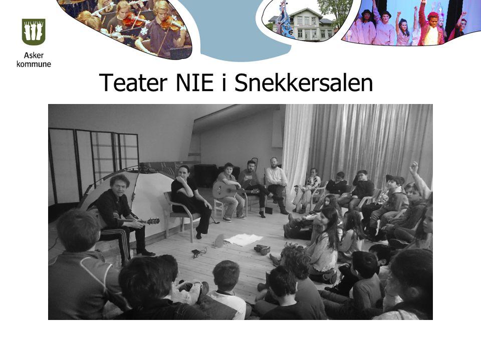 Teater NIE i Snekkersalen
