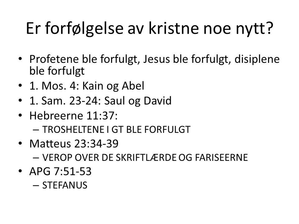 UNNGÅ FORFØRELSE OG BLI STÅENDE I EVENTUELL FORFØLGELSE = LEV ET LIV I ÅNDEN!!.