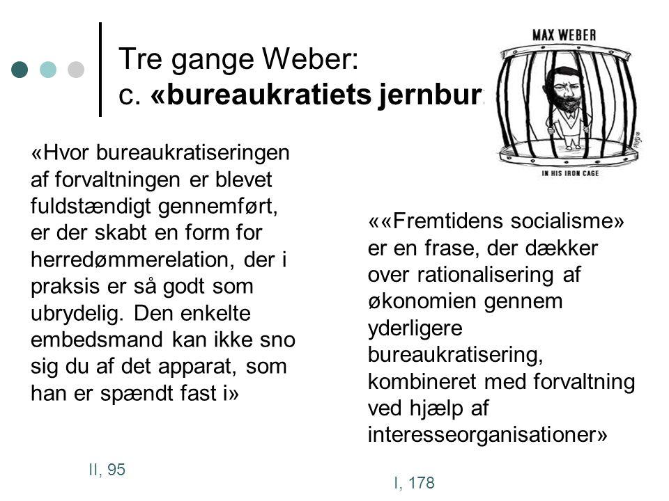 Tre gange Weber: c.