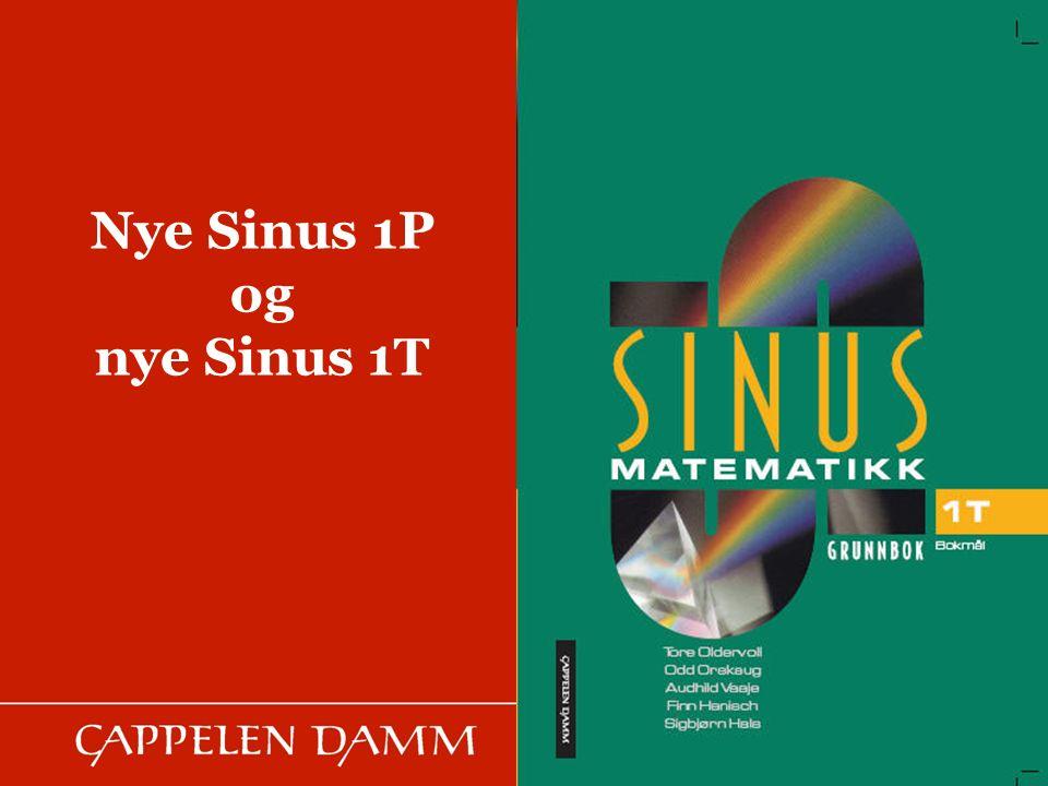 Nye Sinus 1P og nye Sinus 1T Bilde inn