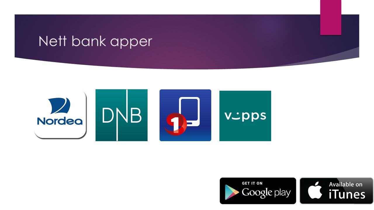 Nett bank apper