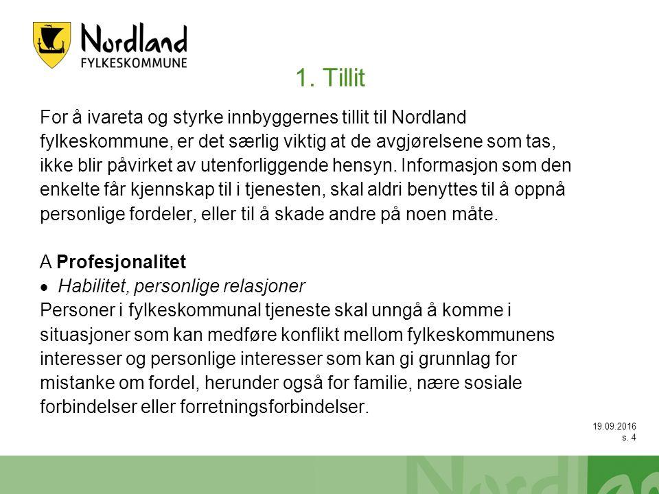 19.09.2016 s.15 Intern varsling – lovgrunnlaget forts.
