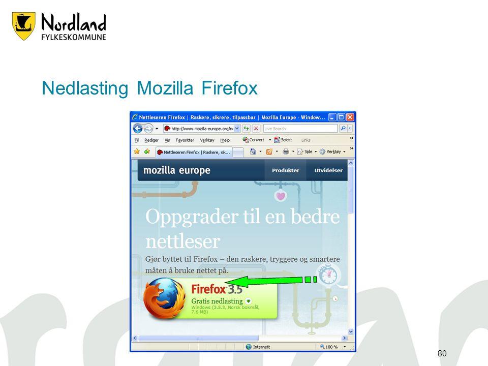 80 Nedlasting Mozilla Firefox