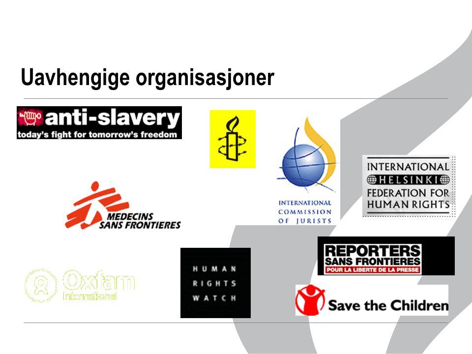 Uavhengige organisasjoner