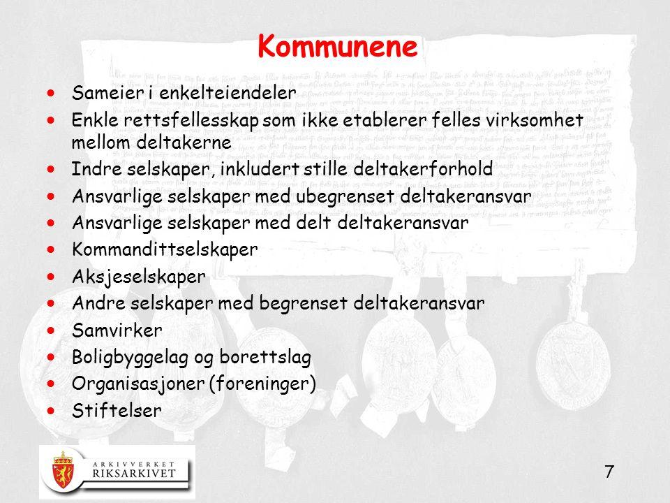 18 Integrasjon av statlige og kommunale saksbehandlingssystemer  Basisløsning: NAV kommer til å kjøre en pilot frem til januar 2007, og så skal løsningen implementeres for alle arbeids- og velferdskontor i Norge frem til januar 2010.