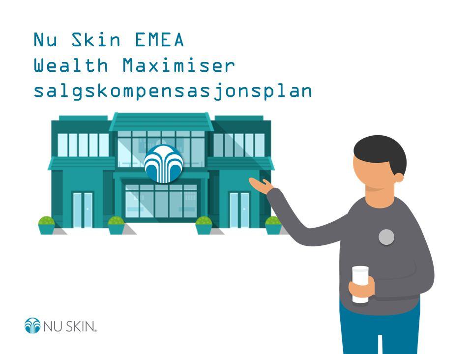 Nu Skin EMEA Wealth Maximiser salgskompensasjonsplan