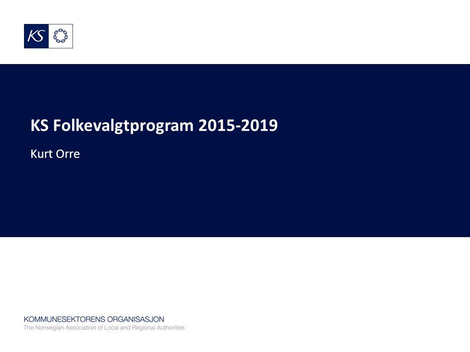 KS Folkevalgtprogram 2015-2019 Kurt Orre