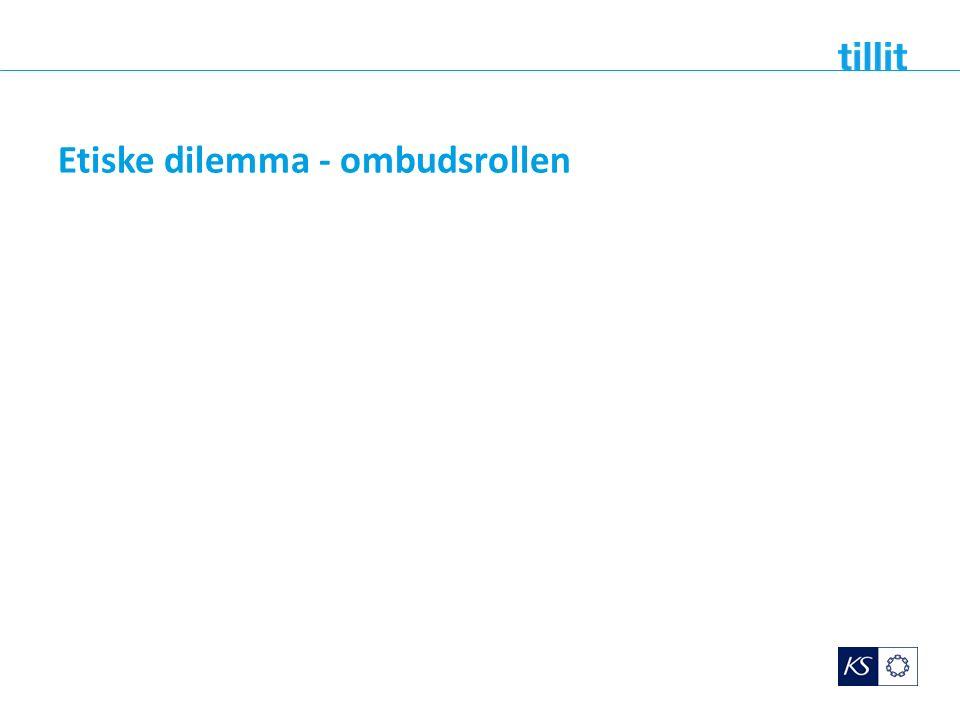 Etiske dilemma - ombudsrollen
