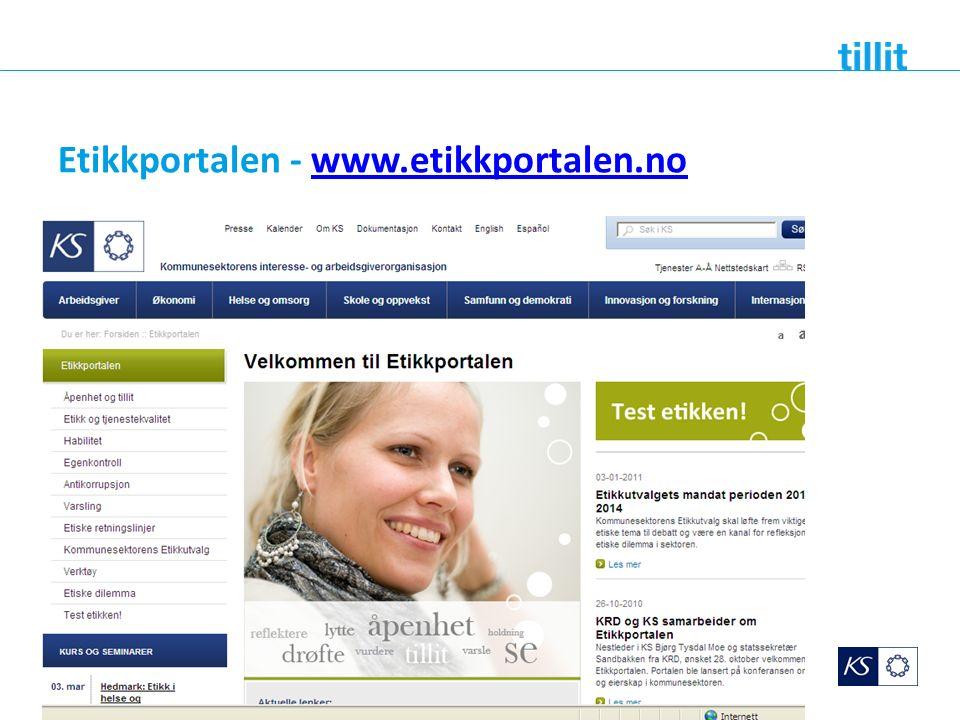 Etikkportalen - www.etikkportalen.nowww.etikkportalen.no