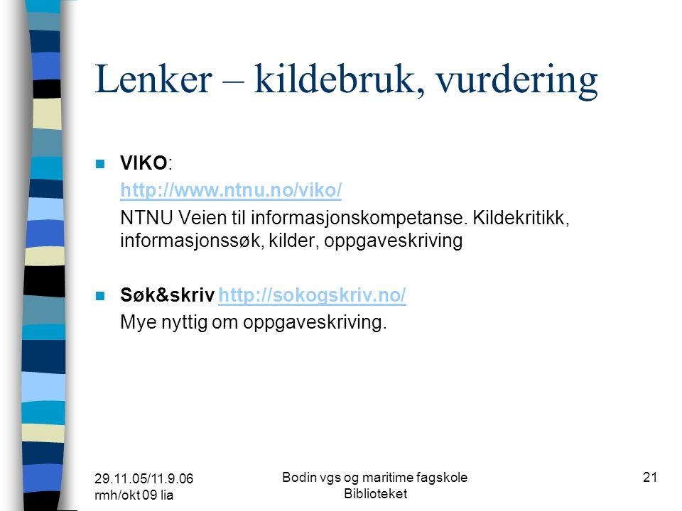29.11.05/11.9.06 rmh/okt 09 lia Bodin vgs og maritime fagskole Biblioteket 20 Lenker - tegneserier Stavanger bibliotek http://www.stavanger-kulturhus.