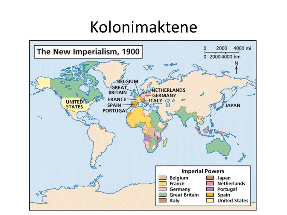 Kolonimaktene