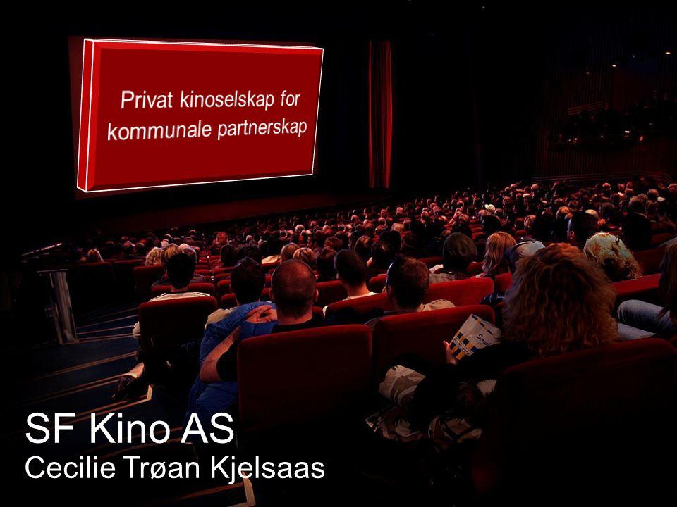 SF Kino AS Cecilie Trøan Kjelsaas
