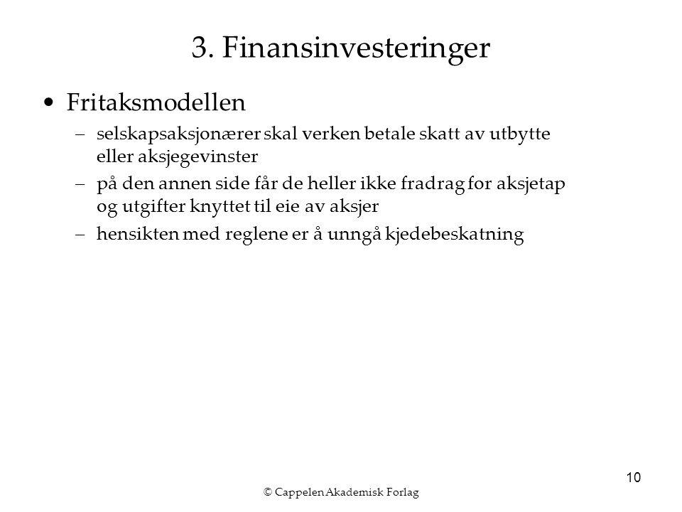 © Cappelen Akademisk Forlag 10 3.