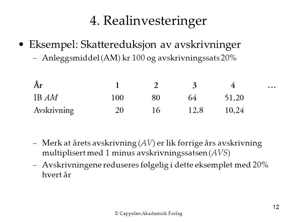 © Cappelen Akademisk Forlag 12 4.