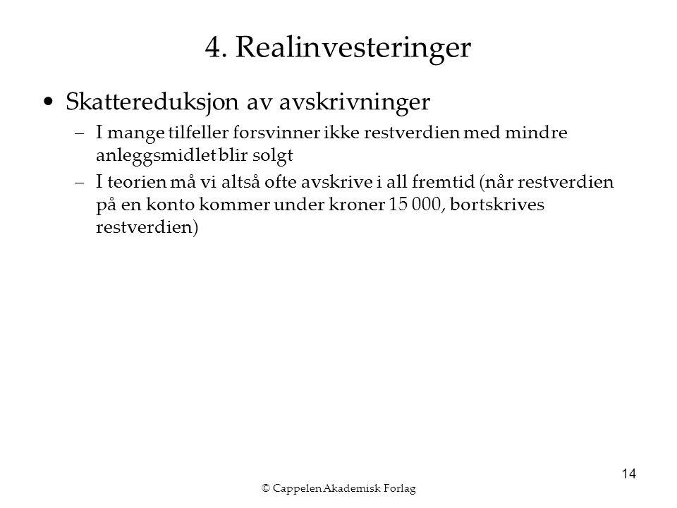 © Cappelen Akademisk Forlag 14 4.