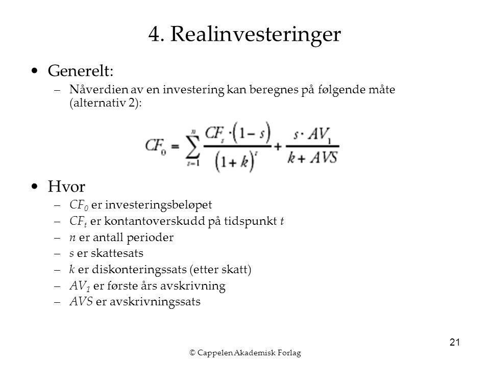 © Cappelen Akademisk Forlag 21 4.