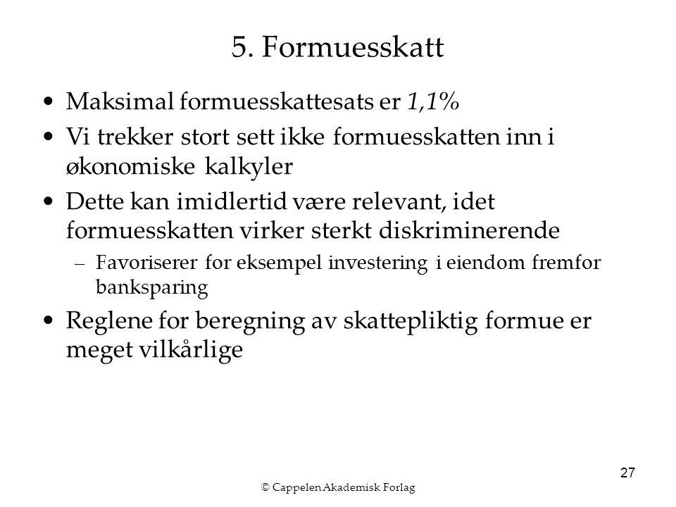 © Cappelen Akademisk Forlag 27 5.