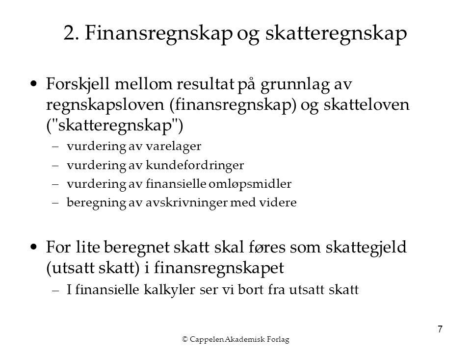 © Cappelen Akademisk Forlag 7 2.