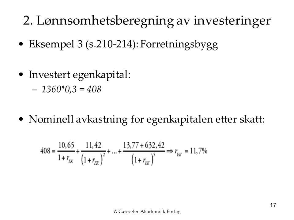 © Cappelen Akademisk Forlag 17 2.