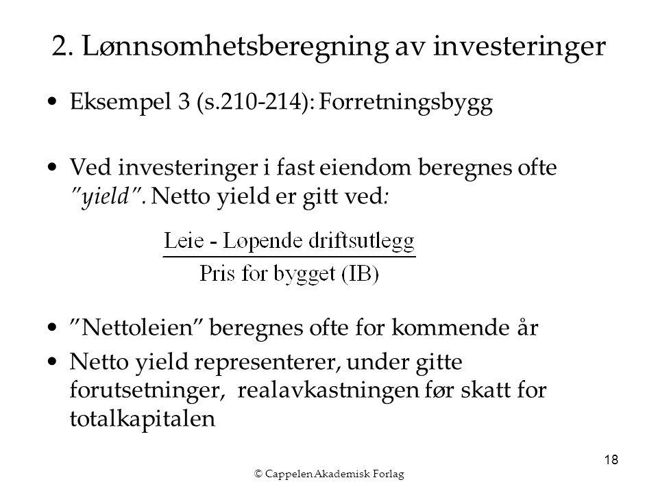 © Cappelen Akademisk Forlag 18 2.