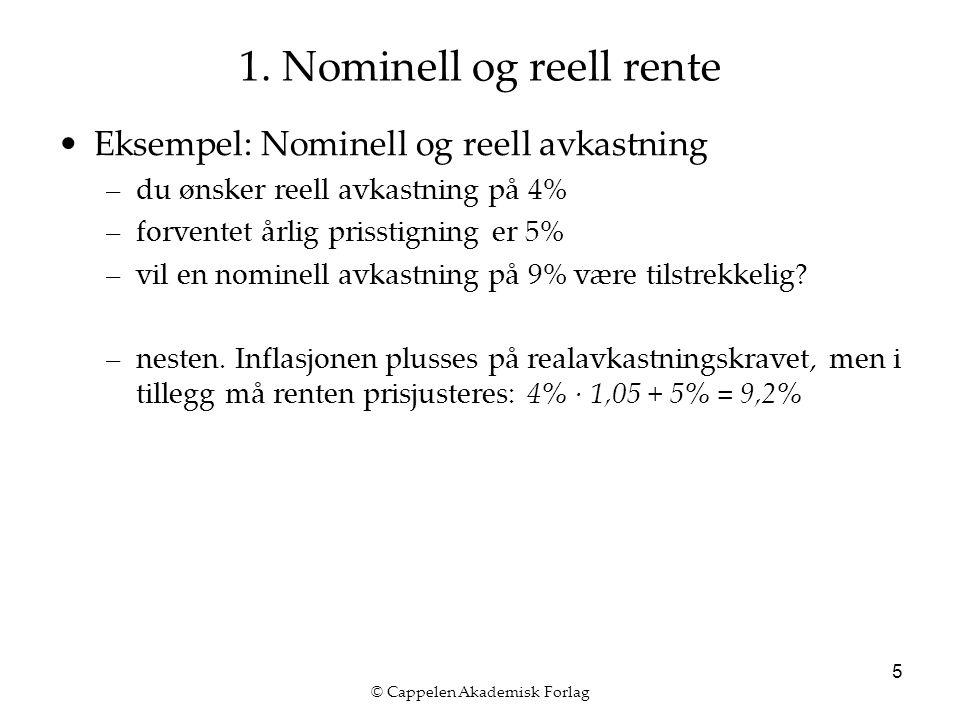 © Cappelen Akademisk Forlag 5 1.