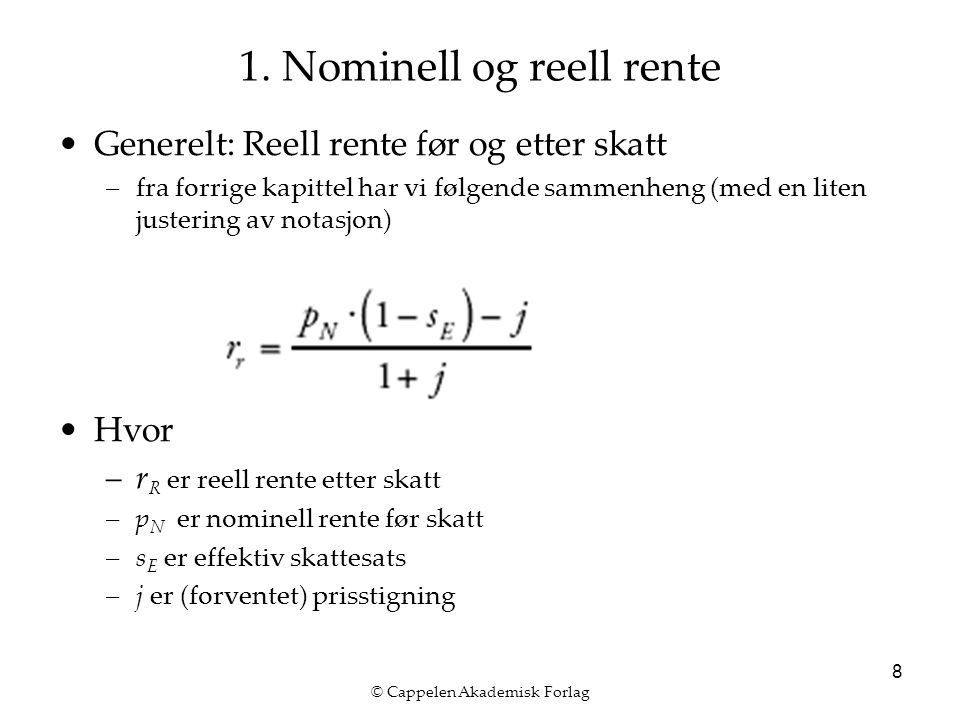 © Cappelen Akademisk Forlag 9 2.