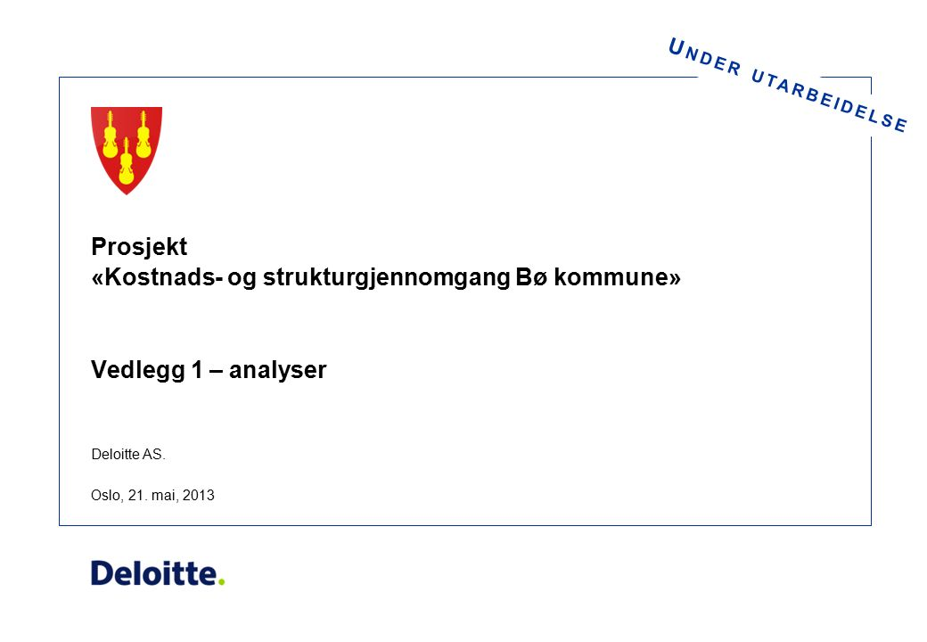 Barnevern - Samlet oversikt Bø kommuneKo-Gr.