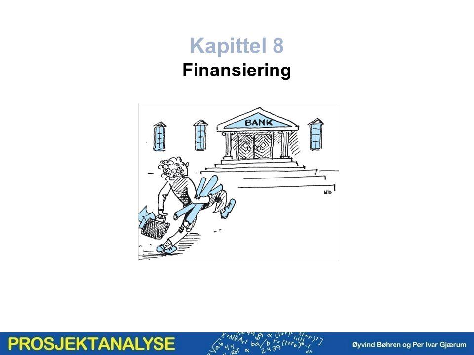 Kapittel 8 Finansiering