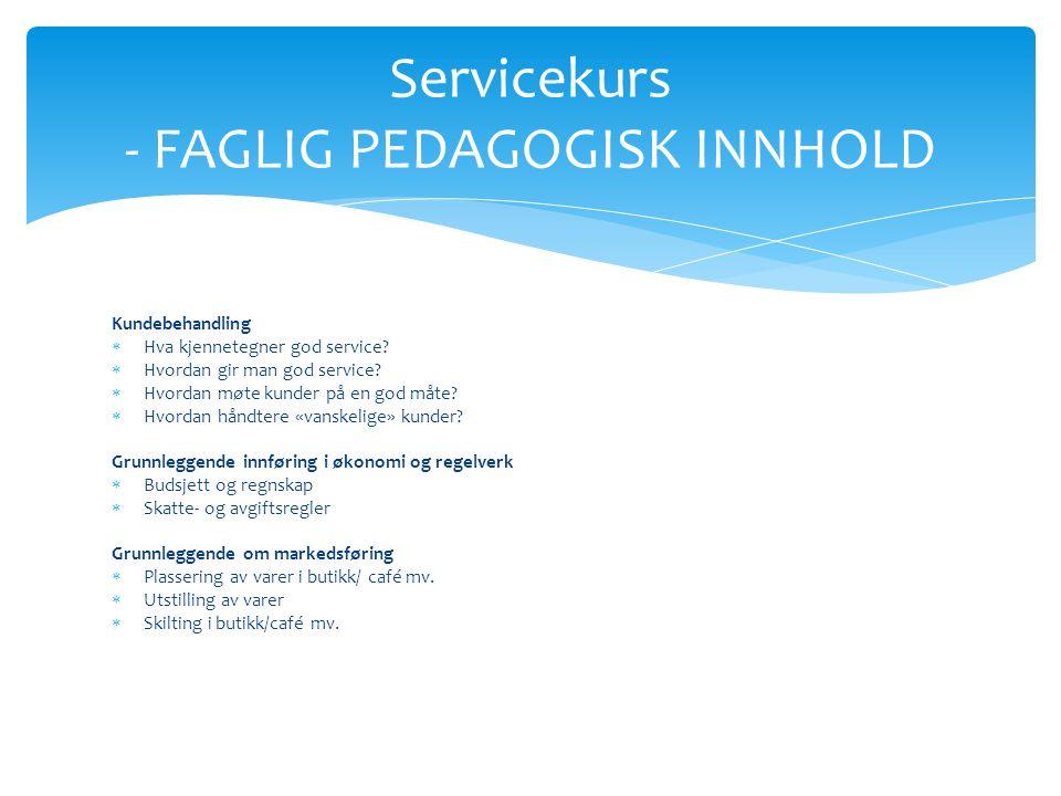 Kundebehandling  Hva kjennetegner god service.  Hvordan gir man god service.