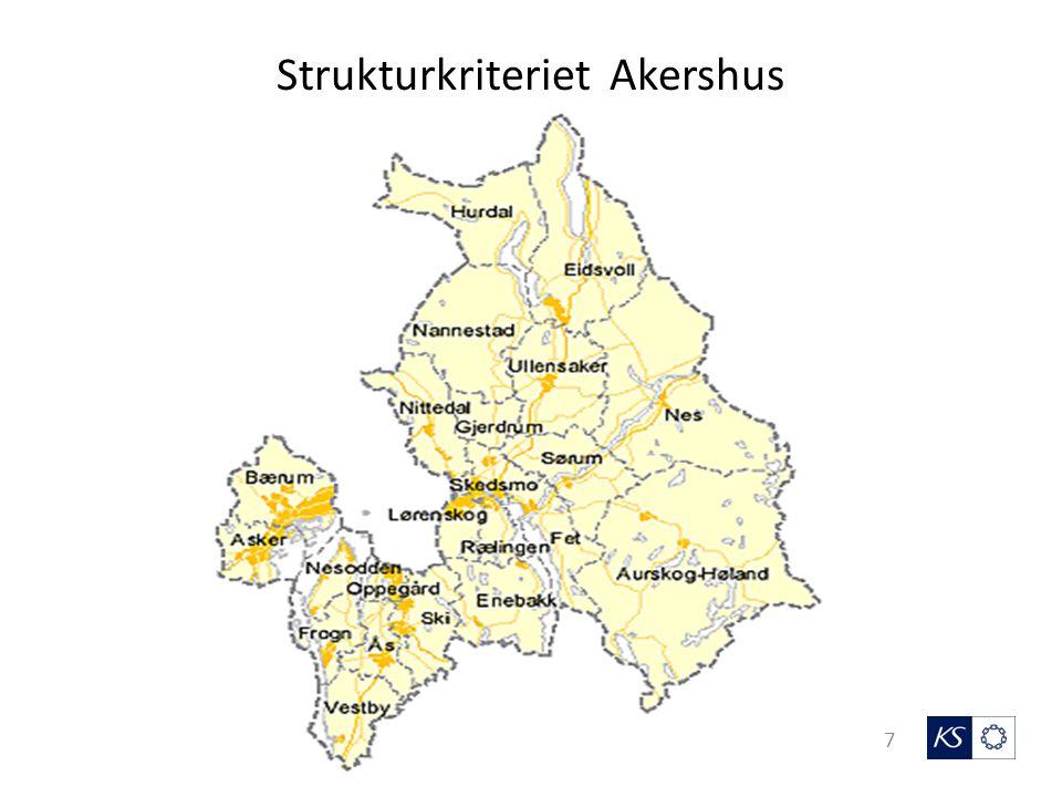Strukturkriteriet - kommunen og grenseverdier 8