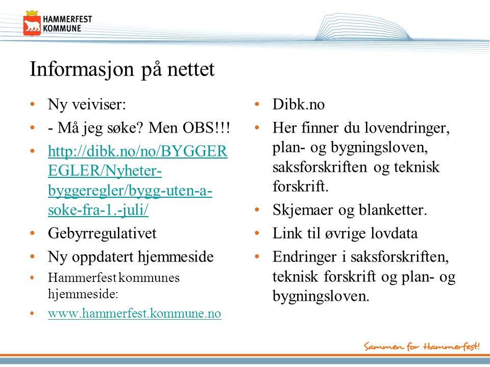 Informasjon på nettet Ny veiviser: - Må jeg søke. Men OBS!!.