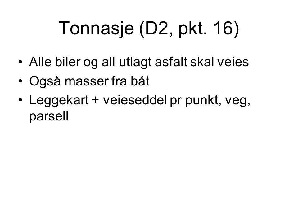 Tonnasje (D2, pkt.
