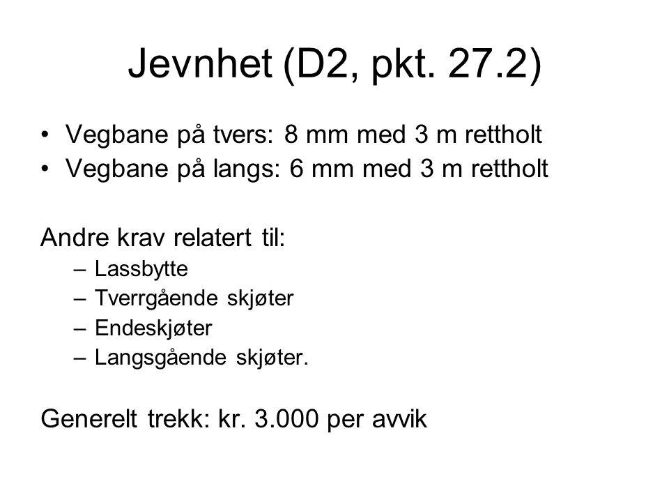Jevnhet (D2, pkt.
