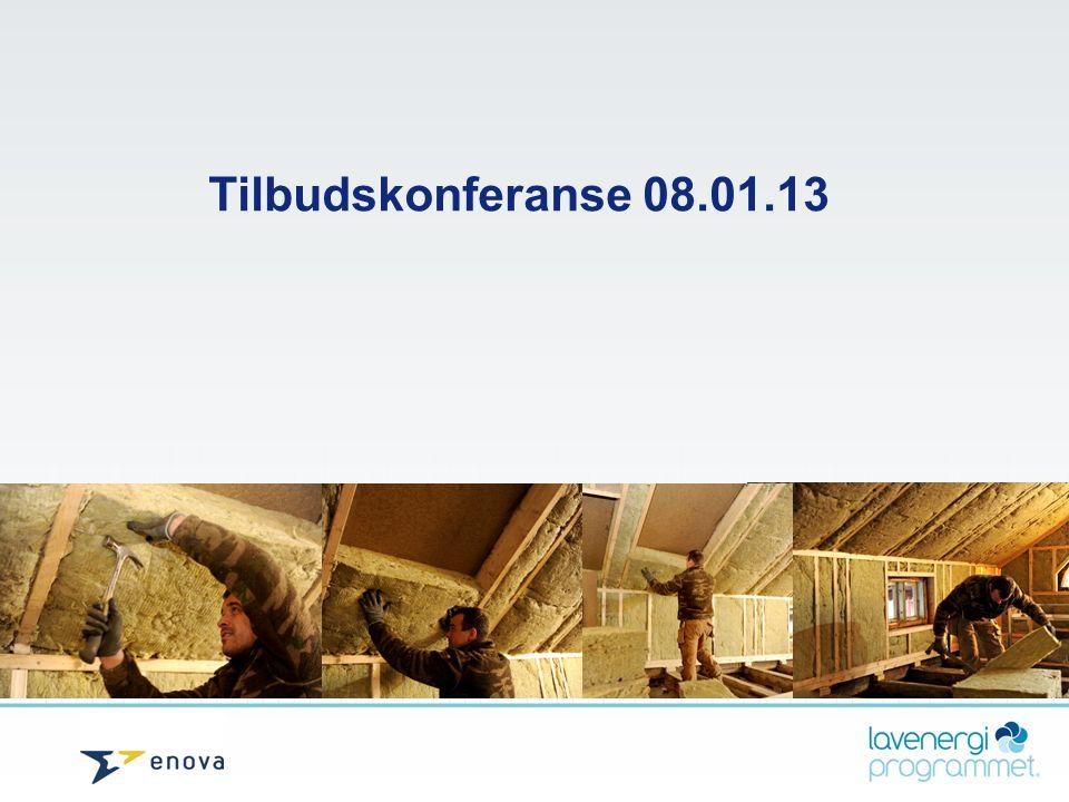 Tilbudskonferanse 08.01.13