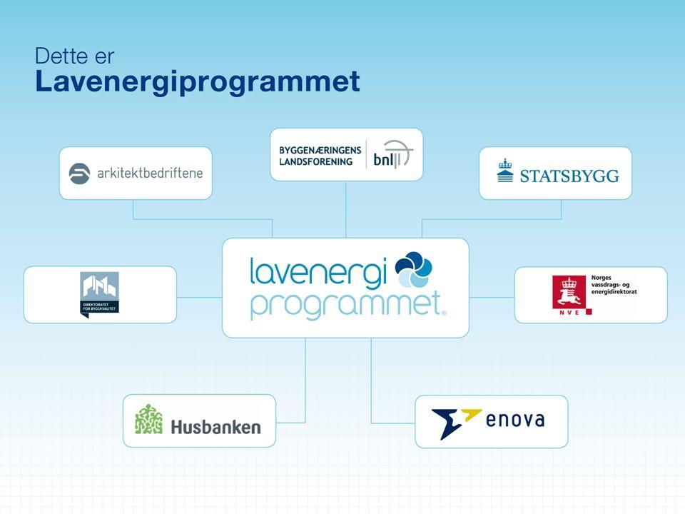 Om Enova -Statsforetak eid av Olje- og energidepartementet - Forvalter avkastningen av Energifondet - Skal fremme mer effektiv energibruk og utvikling av nye fornybare energiteknologier + klimateknologi - Boliger – bygninger – industri – varmeproduksjon - Viktige virkemidler: Investeringsstøtte og informasjon - Vel 60 ansatte med kontor i Trondheim