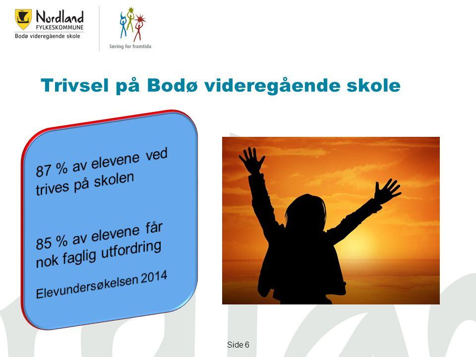 Side 6 Trivsel på Bodø videregående skole
