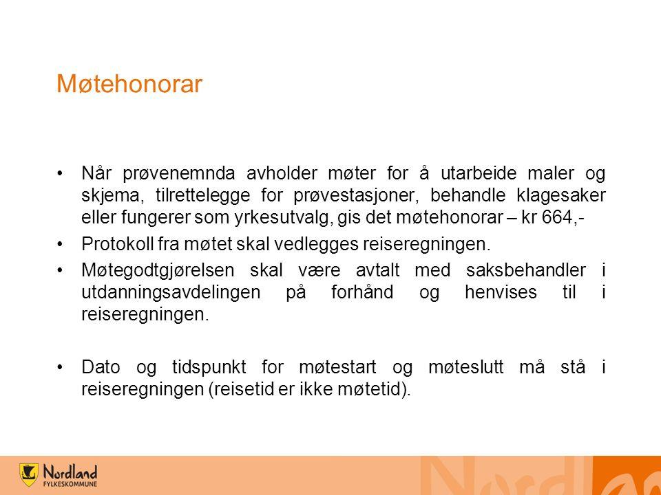 Litt av det praktiske om reiseoppgjør og utbetalinger Nordland fylkeskommune benytter digitale reiseregninger.