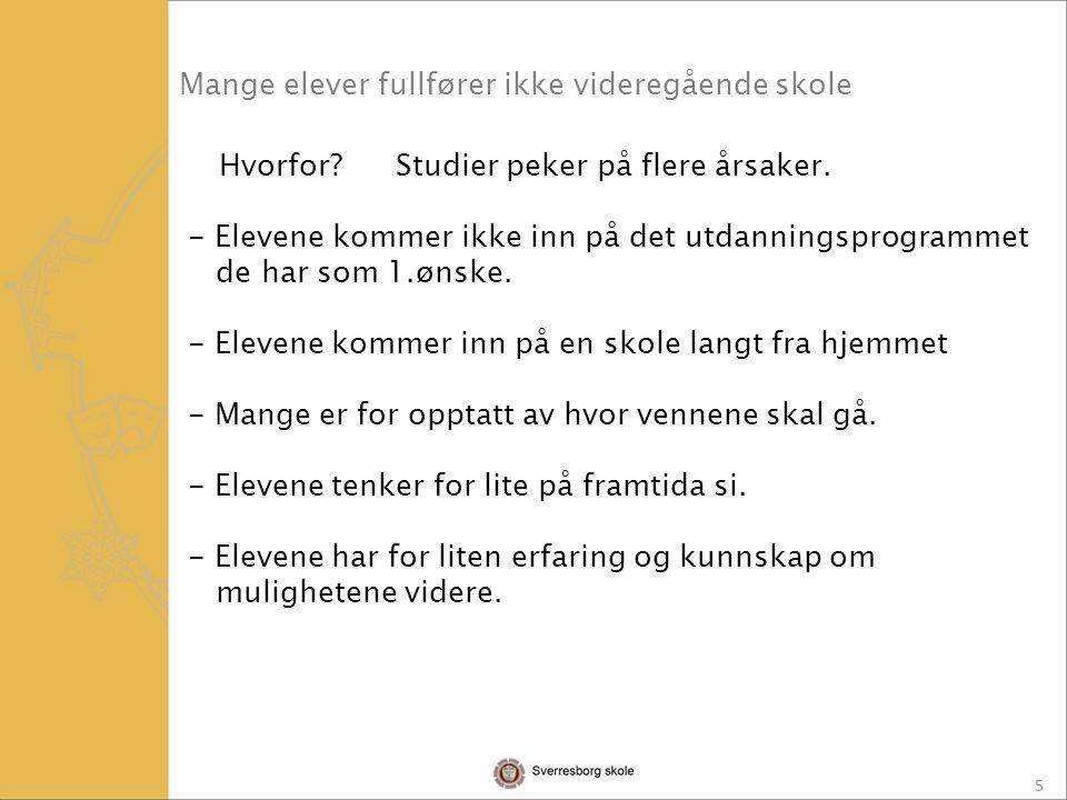16 Elevene får svar ca 10.juli, 2016.