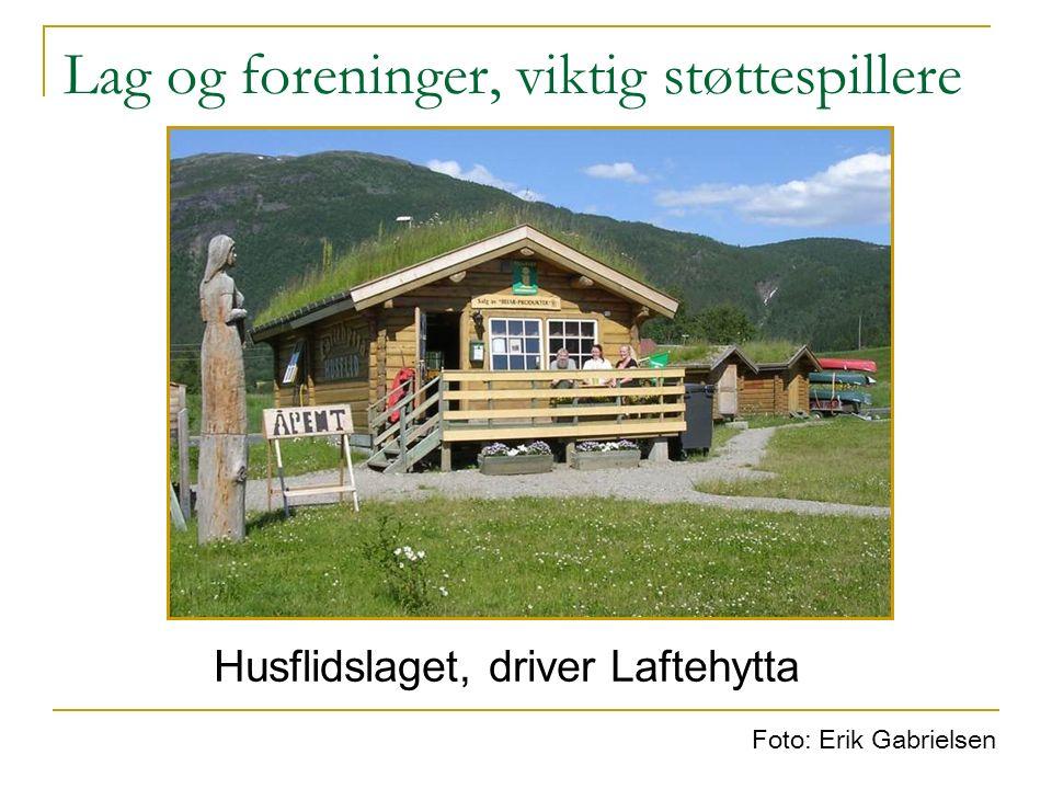 Et lokalt-regionalt næringsliv Lokalt næringsliv som attraksjon Aktivt Landbruk – 75 gårdsbruk i drift.