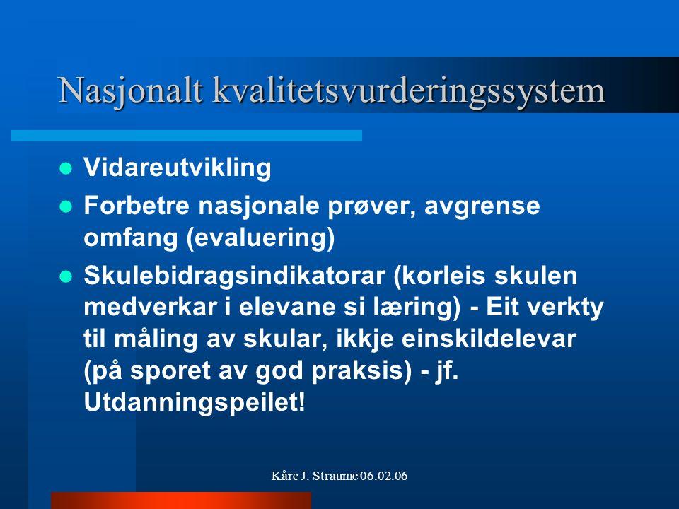 Kåre J. Straume 06.02.06 Informasjon Vilbli.no www.udir.no http://skolenettet.no/kompetanseutvikling www.kunnskapsloeftet.no www.mrfylke.no/utdanning