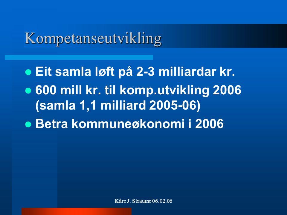 Kåre J. Straume 06.02.06 Endringar (2) 2.
