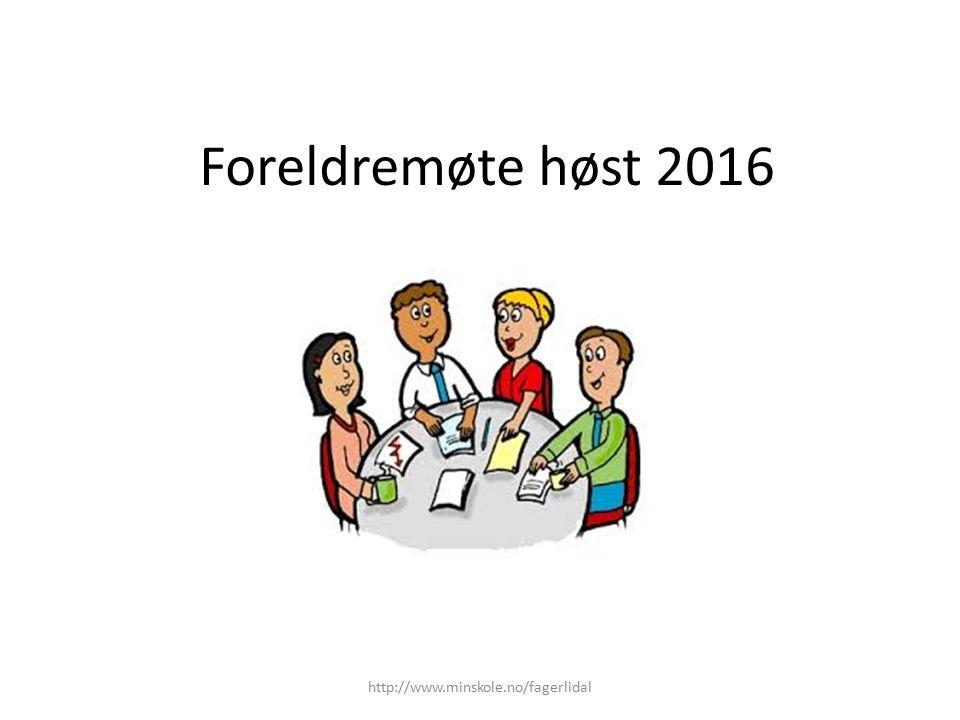 Nytt for skoleåret 2016-2017 Ny dagsrytme for små- og mellomtrinn organisert i 60-minutts enheter.