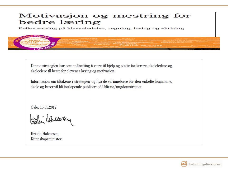 Fase 3, lærerskolering Høsten 2012 Uke (dato)Fylke Uke 40 (1.