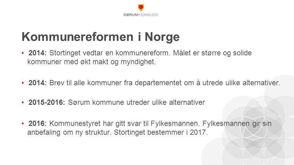 Kommunereformen i Norge 2014: Stortinget vedtar en kommunereform.