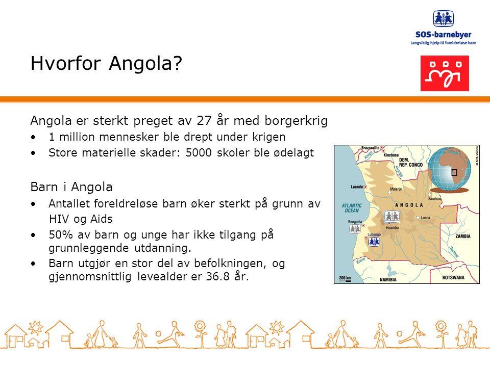 Hvorfor Angola.
