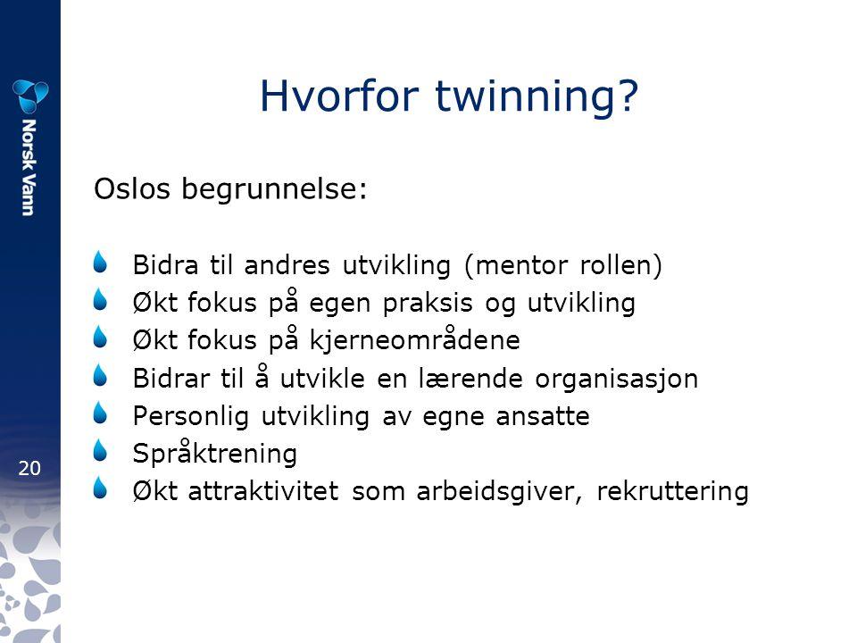 20 Hvorfor twinning.