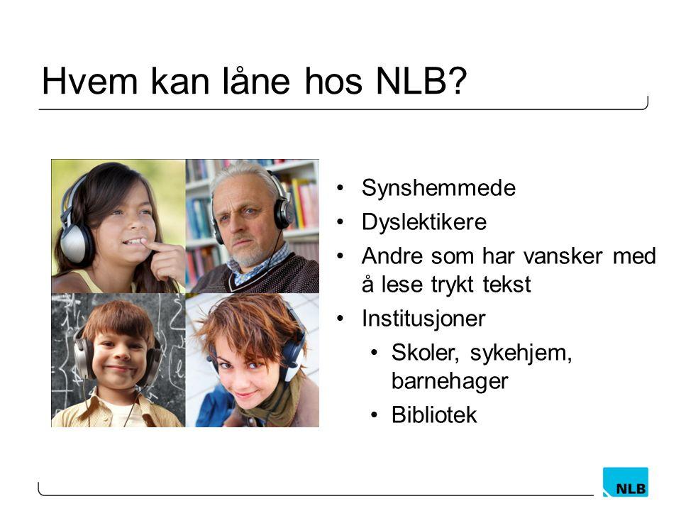 Hvem kan låne hos NLB.