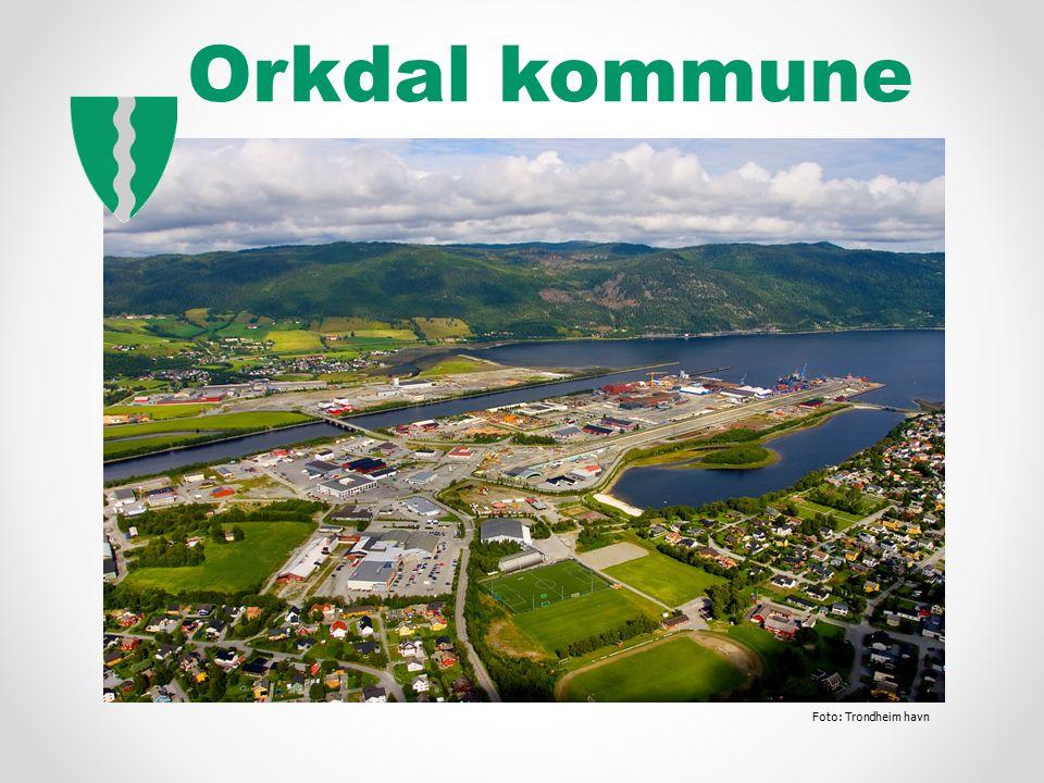 Orkdal kommune Foto: Trondheim havn