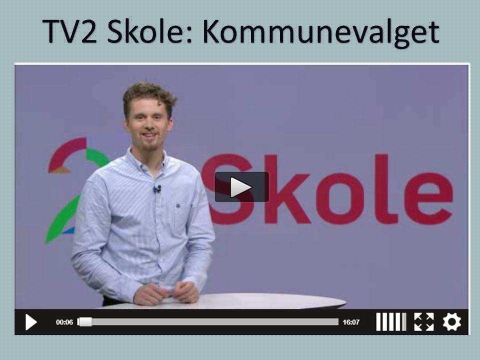TV2 Skole: Kommunevalget